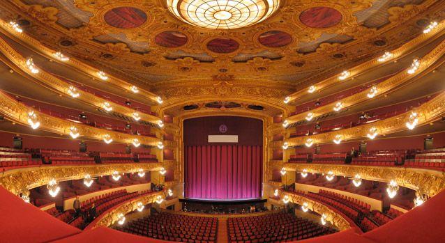 El Gran Teatro del Liceo de Barcelona.