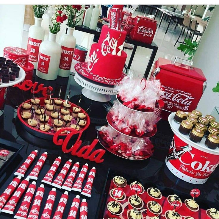 19 best Coca Cola birthday party images on Pinterest | Birthday ...
