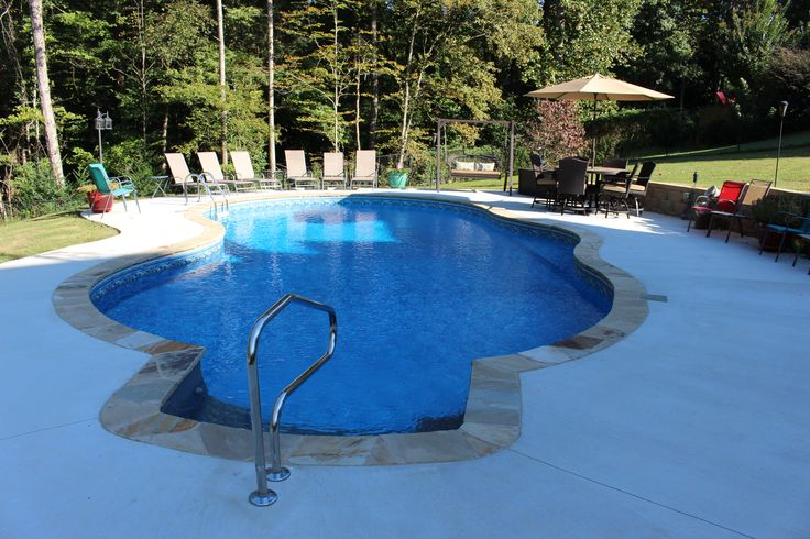 Free Form Vinyl Liner Pool Brown 39 S Pools Spas Photo By Mandy Shaw 3472 Hwy 5 Douglasville Ga