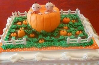 Best Baby Shower Cake For Twins Pictures Ideas