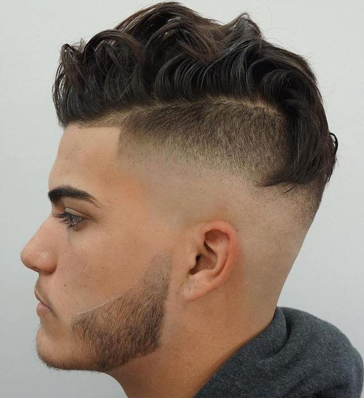 Mens hairstyles shaved sides long on top
