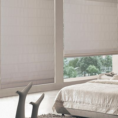 Blinds.com Cordless Roman Shades offer the perfect combination of classic styling, affordability, and cordless operation.