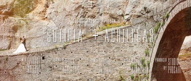 Wedding in Epirus Greece | Sotiria & Achilleas | Wedding Trailer