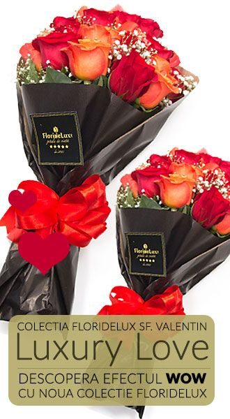 comanda flori de Sf.Valentin