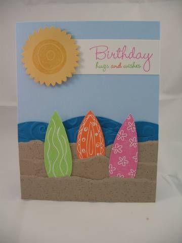 Surf's Up by kkgasper - Cards and Paper Crafts at Splitcoaststampers