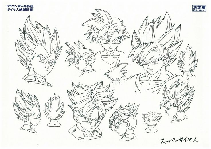 http://gohanxtrunks.net/wp-content/uploads/2011/02/dragonballkai-saiyans-artbook-toriyama-dbz-05.jpg ★ || CHARACTER DESIGN REFERENCES | キャラクターデザイン  • Find more artworks at https://www.facebook.com/CharacterDesignReferences & http://www.pinterest.com/characterdesigh and learn how to draw: #concept #art #animation #anime #comics || ★