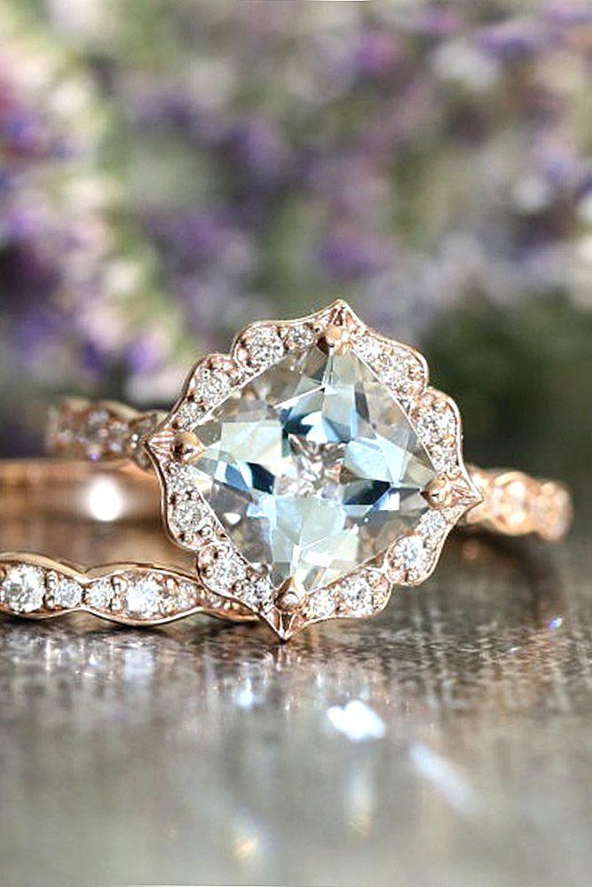 vintage rose gold engagement rings 6