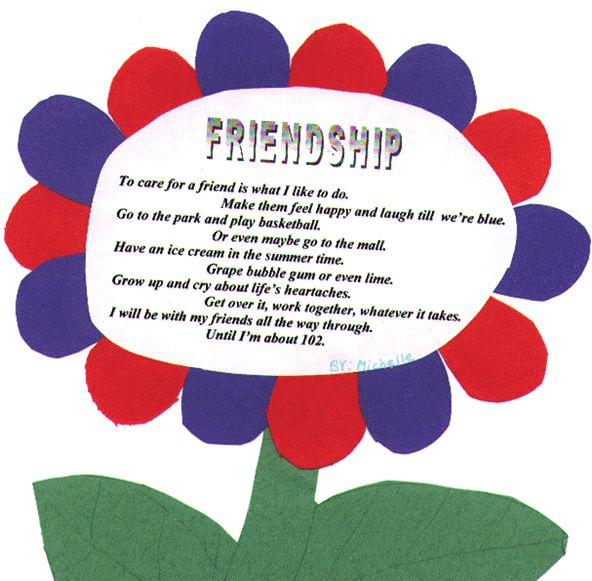 Friendship Poems For Kids 7