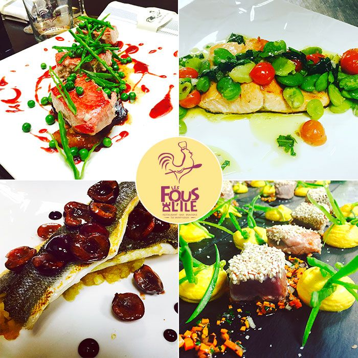 Chez Les Fous de l'ile avec son Chef Anais Dutilleul, c'est la folie est dans les assiettes …