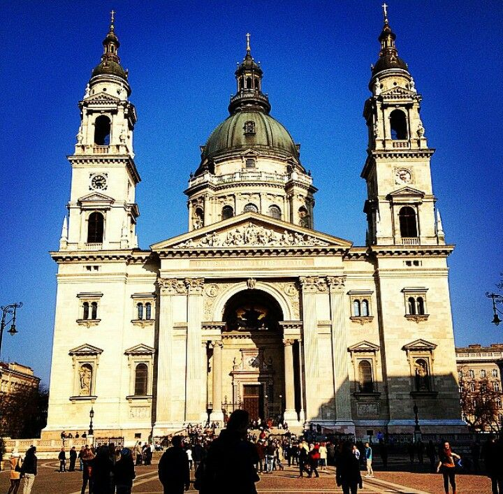 St. Stephen Church in Budapest