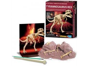 T-rex à deterrer et à assembler