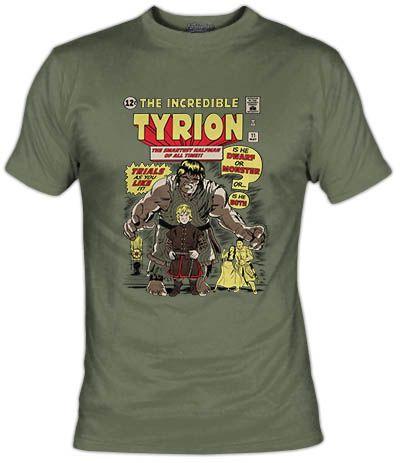 Tyrion Lannister no sólo es el mediohombre más listo de Casterly Rock, sino también un Enano y un Monstruo y está en un juicio por ambas cosas! Parodia del Increíble Hulk y el personaje de la serie Juego de Tronos.