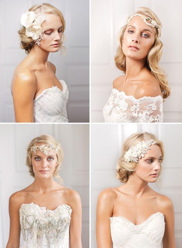 Peinados para novias con pelo largo   Penteados de Noiva con Cabelos longos   Bride hairstyles long hair