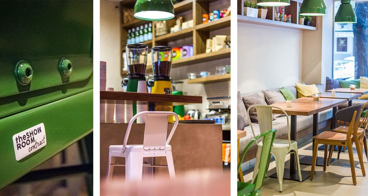 MY G-C - My Green Cup in Budapest #coffeeshop #green #cafedesign #contract #furniture #design
