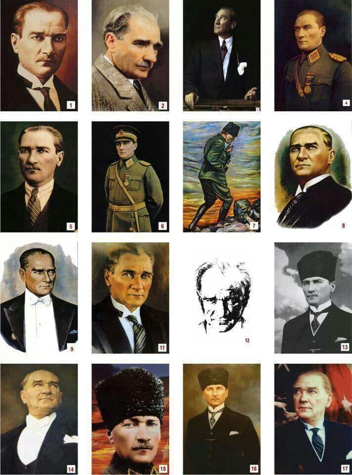 Mustafa Kemal ATATÜRK-The founder of the republic of Turkey-Türkiye Cumhuriyeti' nin Kurucusu