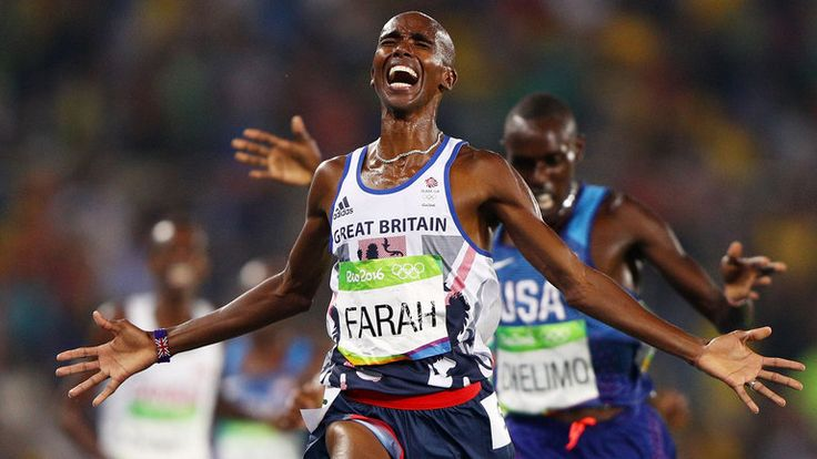 Mo Farah is a four-time Olympic champion