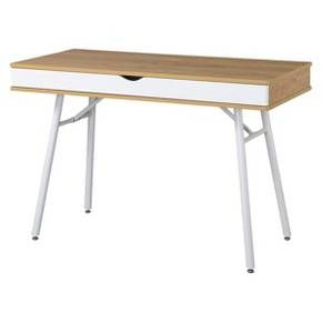 Writing Desk Beige/White - Techni Mobili : Target