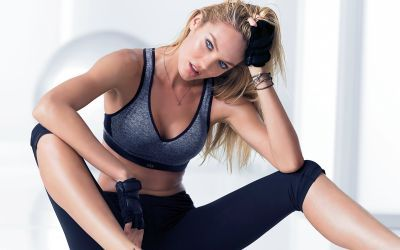 Candice Swanepoel in sports wallpaper