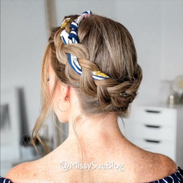 Braided Hairstyle Video for Long Hair – Cabello #Braided Hairstyles #Hairstyle Wedding #s Hairstyles