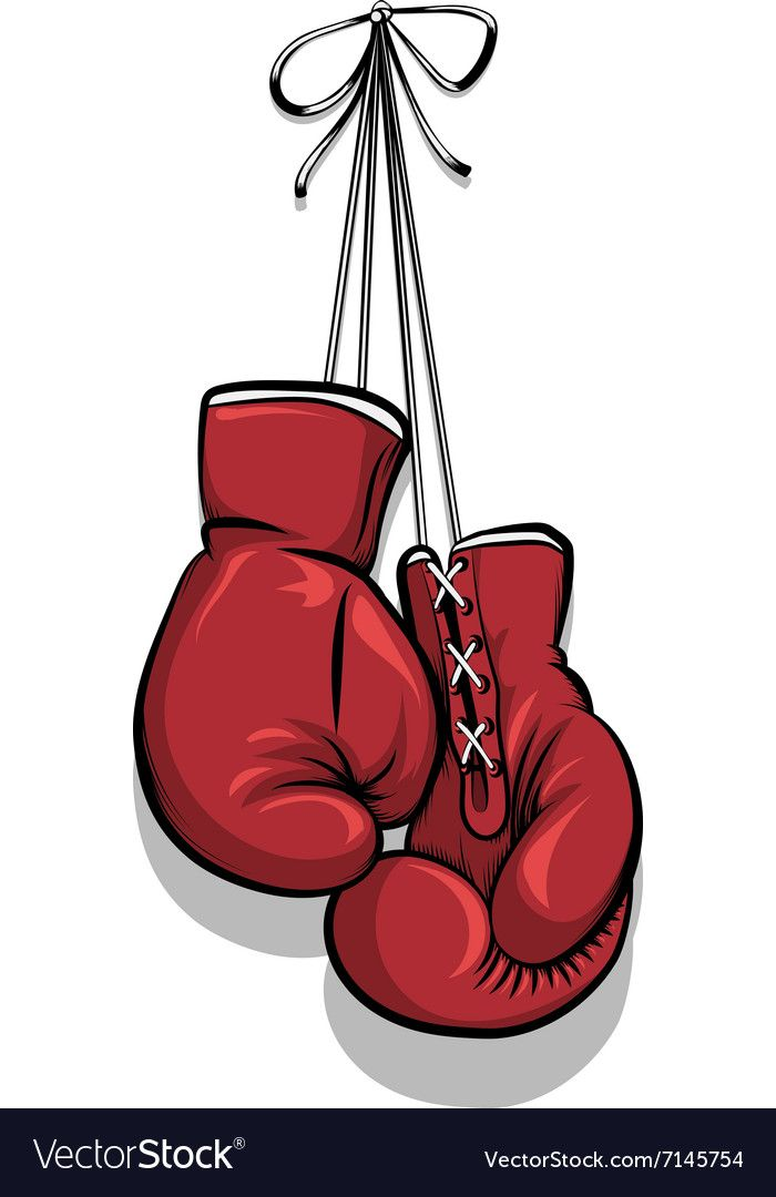 Hanging Boxing Gloves Royalty Free Vector Image Ad Gloves Boxing Hanging Royalty Ad Picture Boxes Red Art Print Boxing Gloves