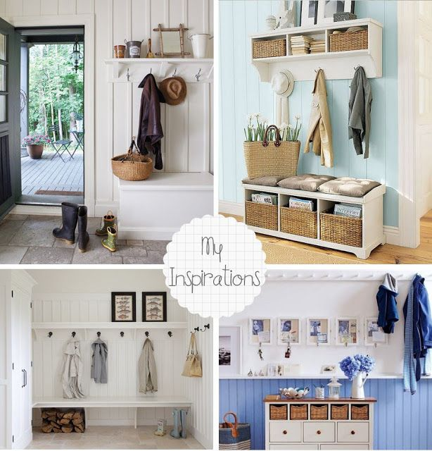 Home Shabby Home:Hallway Inspirations