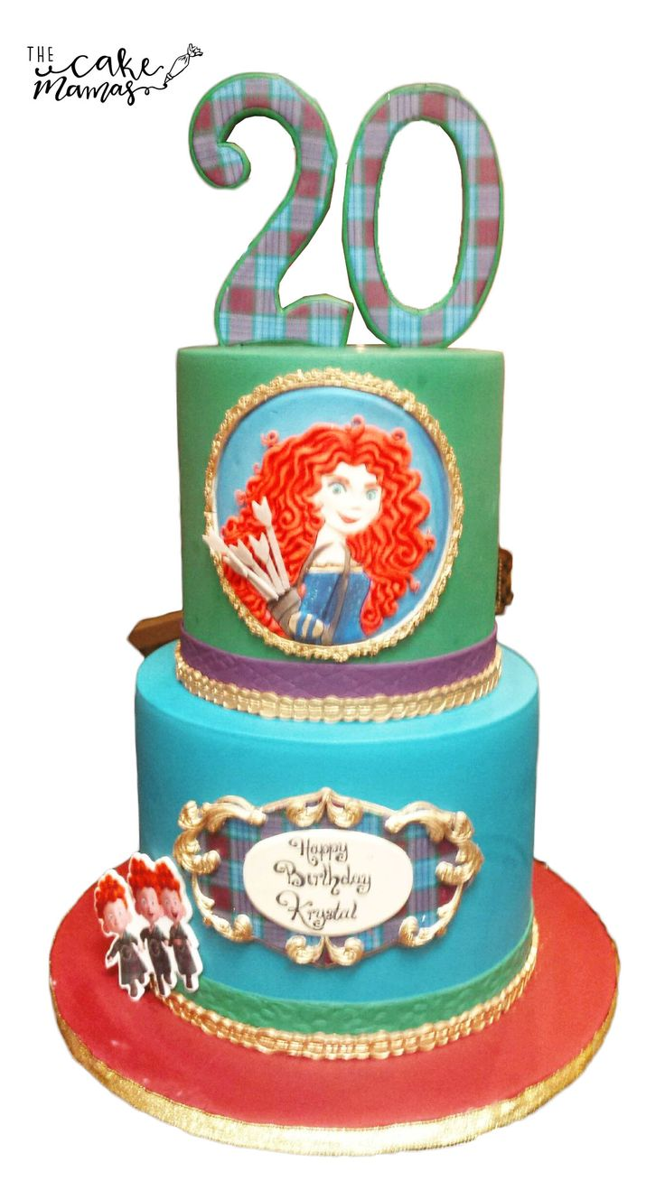 Disney's Brave Inspired birthday cake! Call or email to