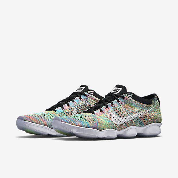 Image result for Nike Flyknit Zoom Agility Women's Training Sneakers Shoes turquoise black