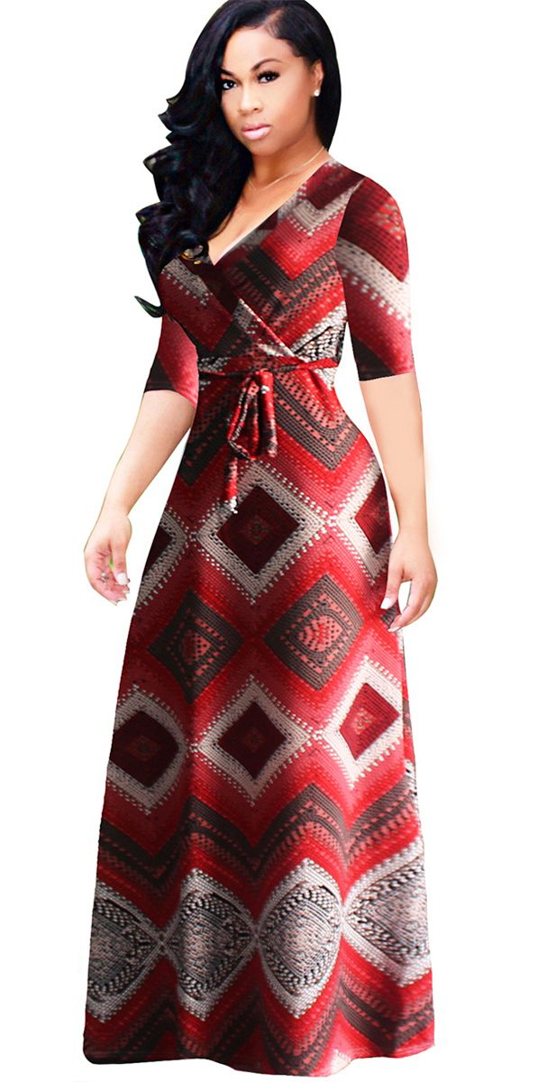 0ad75b5011e Material Polyester  Silhouette Expansion  Dress Length Floor-Length  Sleeve  Length Half Sleeve  dress  fashion