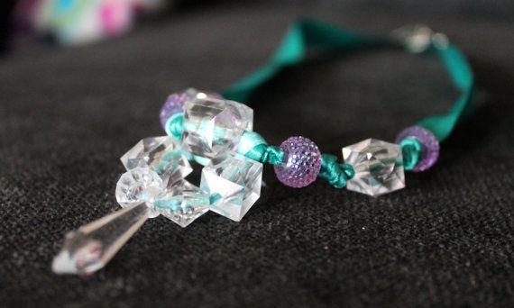 Frozen Inspired Necklace  Elsa Coronation Dress by EllaLucilleArt
