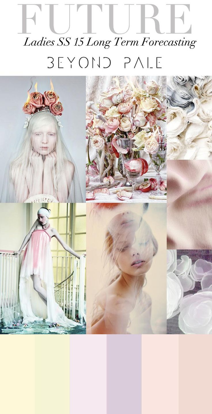 Trend Council:  Ladies SS15 Long Term Forecasting - Beyond Pale