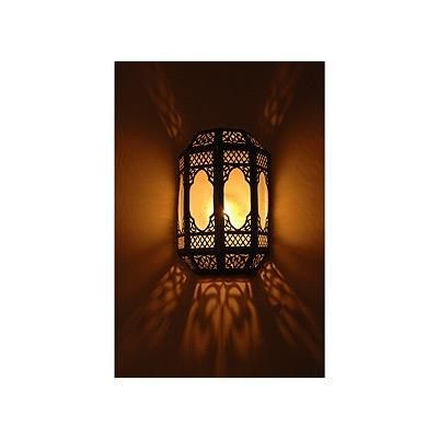 Spanish Style Outdoor Sconces Arabian style wall sconces Arabian wall sconce from Saint Tropez ...
