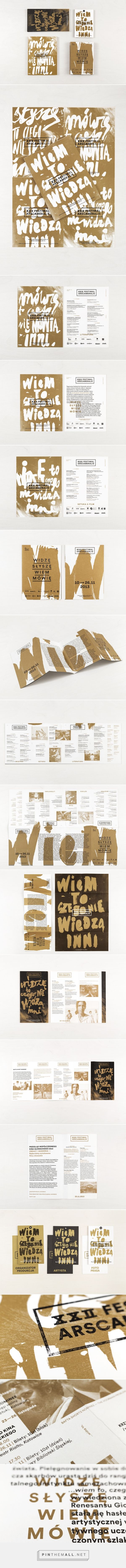Ars Cameralis Festival 2013 — prints on Behance