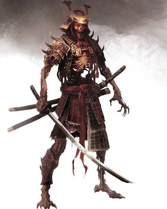 Bone Warrior by Manzanedo • • • • • • • • •  #shinobi #assasin #warrior #samurai #manga #ниндзя #katana #art #digitalart #бусидо #japan #bushido #катана #воин #fantasy #blade #Ninja #самурай #Япония #samurai #japan #japanese #japan #japanesestyle #anime  #animeart #fantsay#asian #ronin #ронин