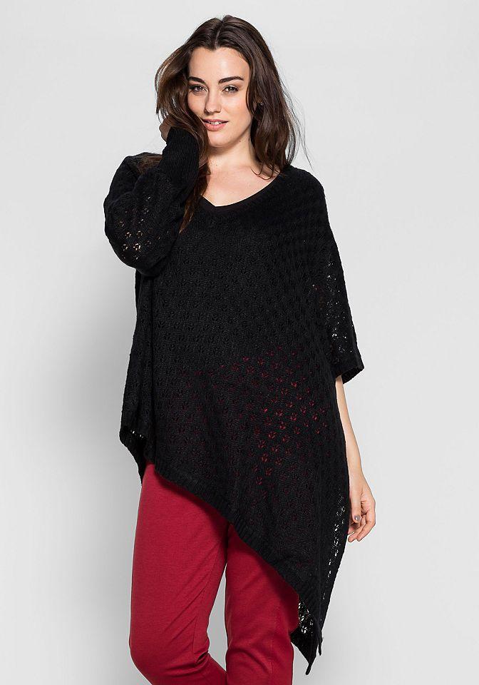 sheego Style Longpullover Jetzt bestellen unter: https://mode.ladendirekt.de/damen/bekleidung/pullover/longpullover/?uid=722bcc3a-083c-5729-9131-e95f8ad51111&utm_source=pinterest&utm_medium=pin&utm_campaign=boards #longpullover #pullover #bekleidung