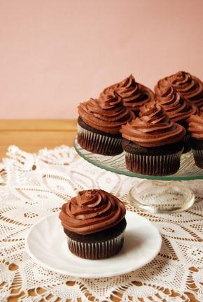 Céklás-csokoládés muffin