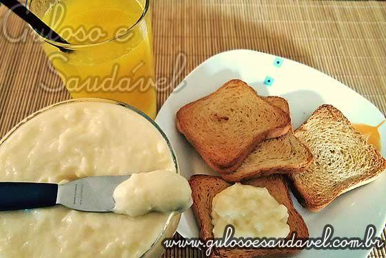 Requeijão Cremoso Caseiro (Catupiry) » Patês e Pastas, Receitas Saudáveis » Guloso e Saudável