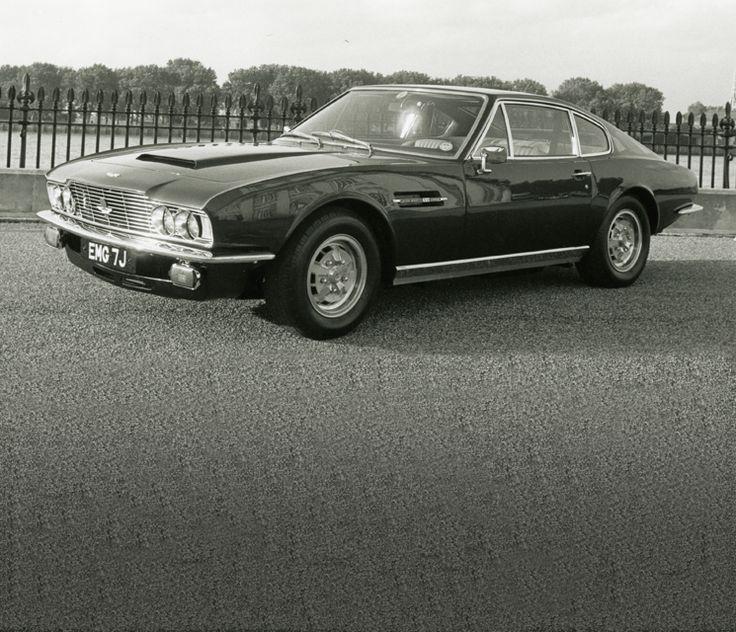 1967 - 1972 Aston Martin DBS V-8. 1193 built. V-8: 5430 cc, 320 bhp @ 5000 rpm, 240 lbs-ft @ 5000 rpm. 0-60: 6 secs.