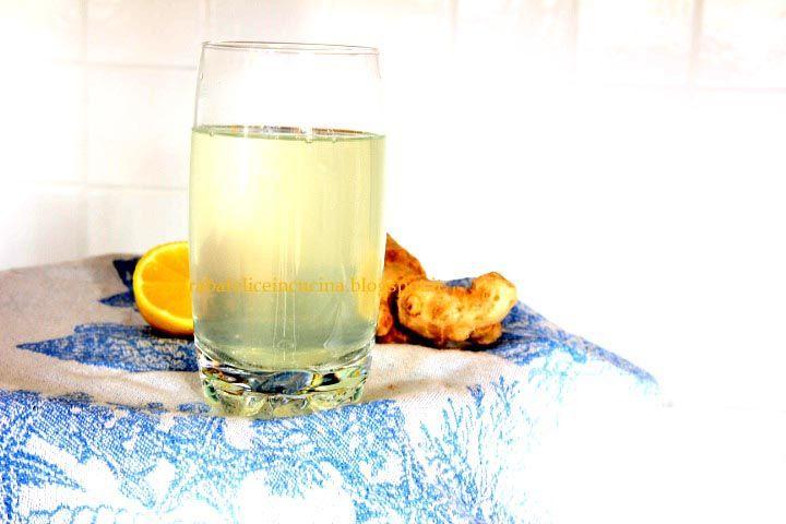 Arabafelice in cucina!: Infuso di zenzero e limone