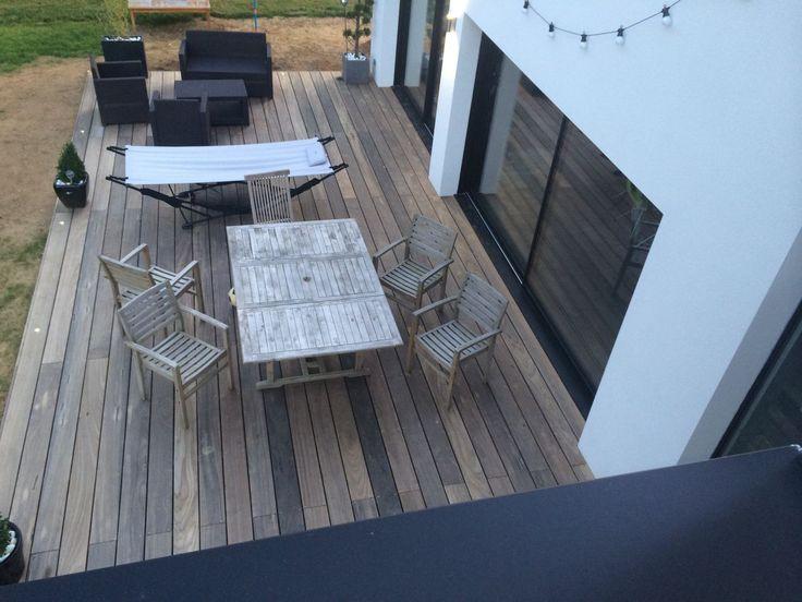 top 25 best toiture terrasse bois ideas on pinterest. Black Bedroom Furniture Sets. Home Design Ideas