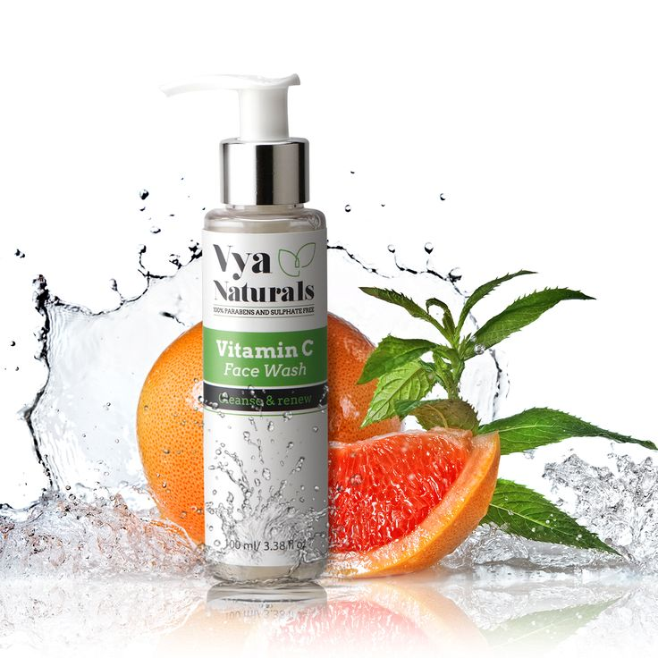 Achieve that ageless look with Vya Naturals Vitamin C face wash   Shop Now: http://bit.ly/2qS2io4