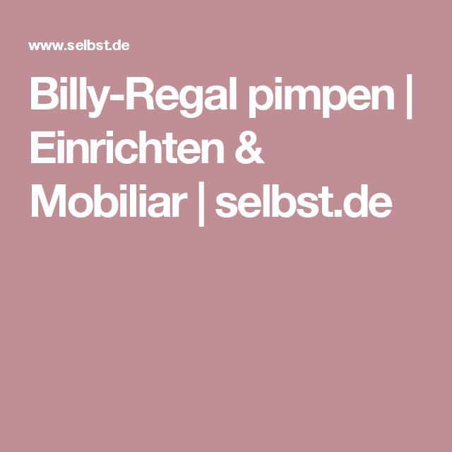 Billy-Regal pimpen | Einrichten & Mobiliar | selbst.de
