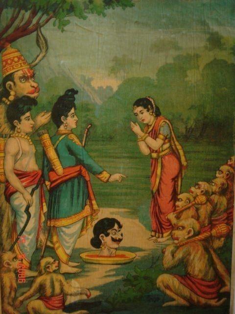 Ramayana and Eldest Son Rama