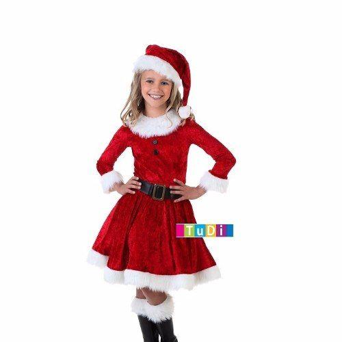 Disfraz Duenda Niña Navidad Elfo Festival - Disfraces Tudi - $ 335.00