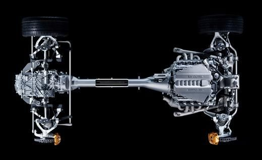 2011 Mercedes-Benz SLS AMG dual-clutch transmission diagram photo