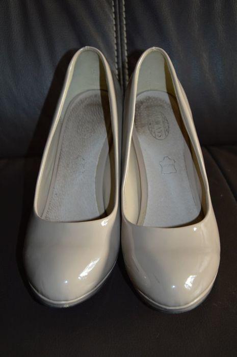 Śliczne buty beige 41 - vinted.pl