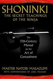 Shoninki: The Secret Teachings of the Ninja Book For Sale | All Ninja Gear: Largest Selection of Ninja Weapons | Throwing Stars | Nunchucks