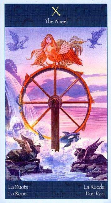 Wheel Of Fortune - Tarot Of Mermaids