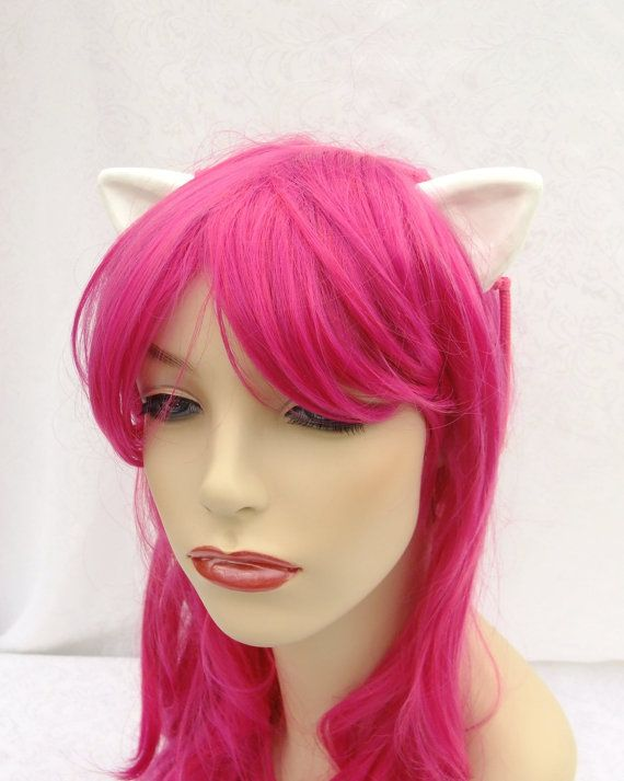 Diclonius Horns, Elfen Lied, Nyuu, Nana, Lucy, Cosplay Horns, Elf Ears- Flesh or White- Choose Your Color