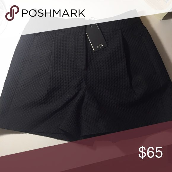 Armani Exchange winter shorts It's very cute! I have never wore it, so it has label on. Size #2/ you can wear it with legging under. Armani Exchange Shorts Skorts