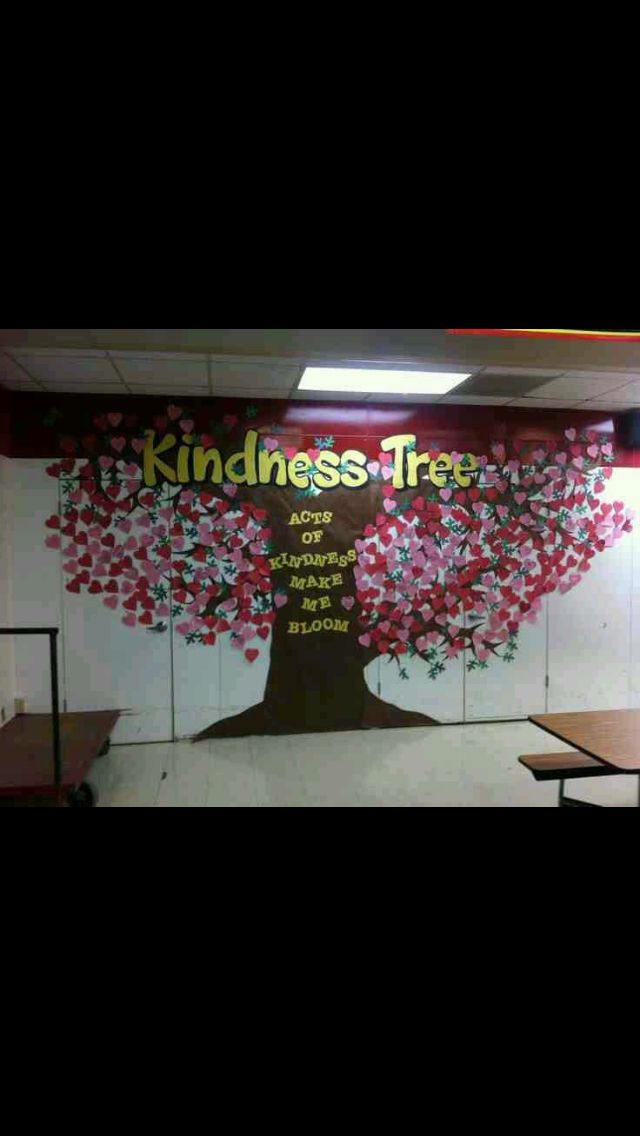 Kindness Tree Kindness Pass It On Pinterest Kindness
